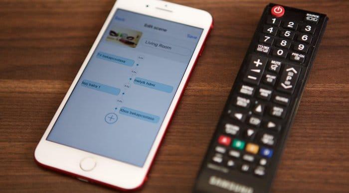 BroadLink RM Mini 3 iOS alkalmazás