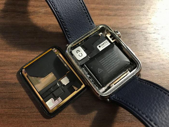 Apple Watch akkumulátor púposodás