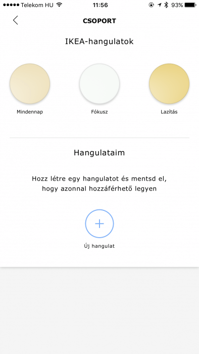 IKEA TRÅDFRI fényerő beállítása