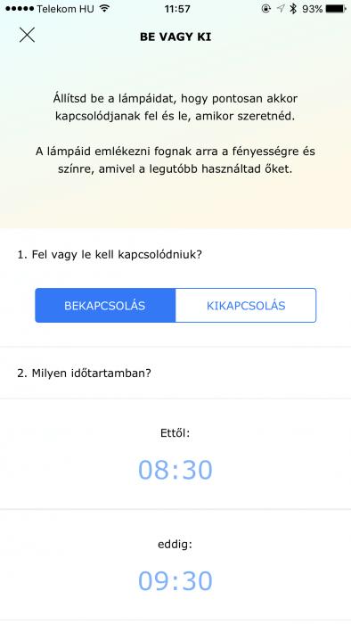 IKEA TRÅDFRI időzítő beállítása