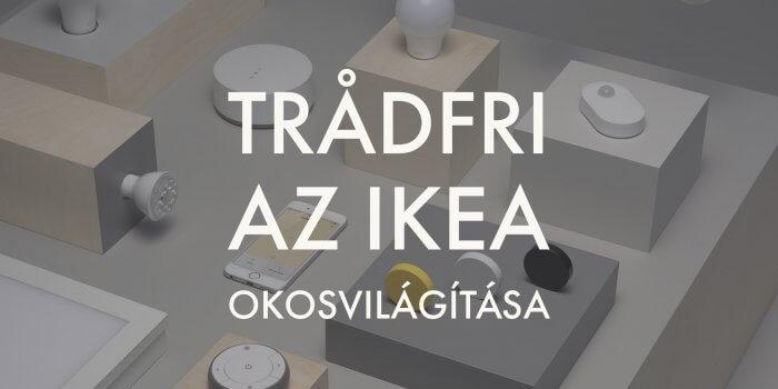 IKEA TRÅDFRI okosizzó, okosotthon szett