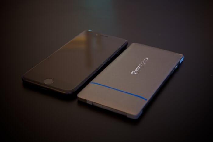 KSIX 5000 mAh külső akkumulátor iPhone-hoz