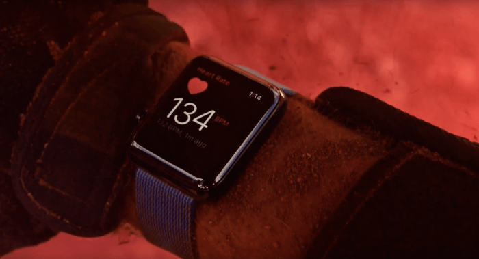 Apple Watch reklám