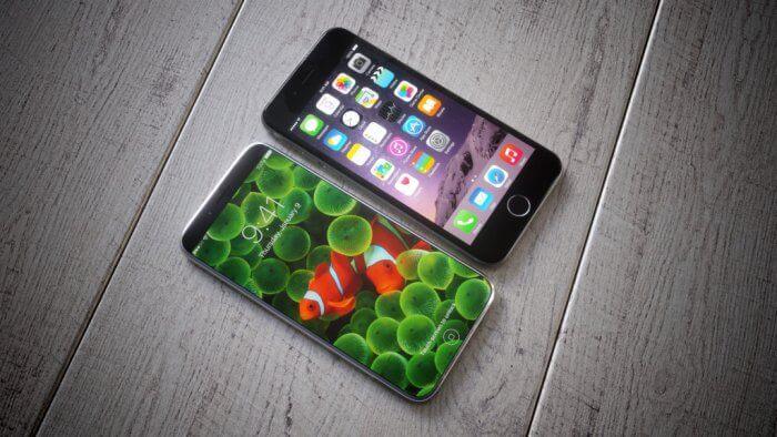 iPhone 8, első generációs koncepció