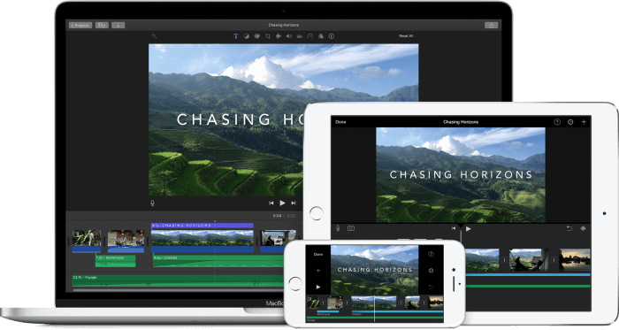 Ingyenesen letölthető az iMovie