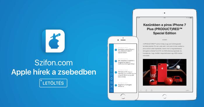 Szifon.com iOS alkalmazás