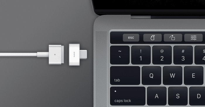 USB-C MagSafe adapter