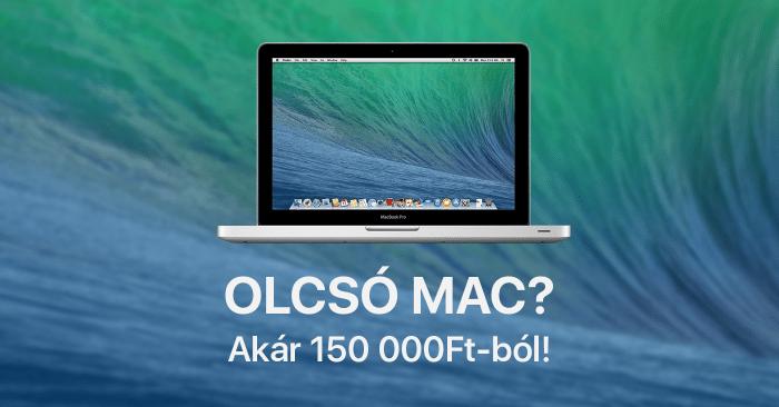Olcsó MacBook