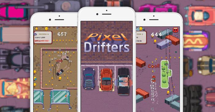 Pixel Drifters borítókép
