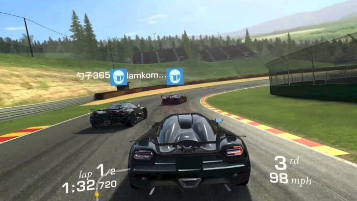 Real Racing 3 képernyőfotó