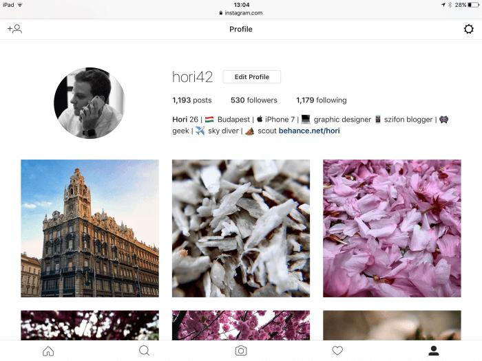 Instagram iPadre