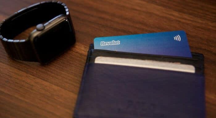 Revolut bankkártya