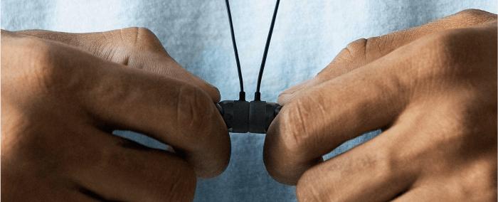 BeatsX mágneses összekapcsolódás