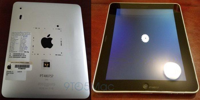 iPad 1 prototípus