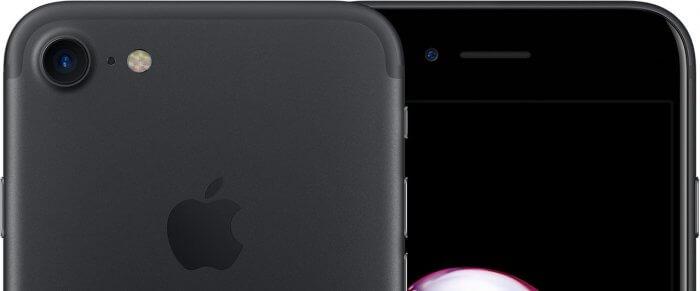 iPhone 7 fekete