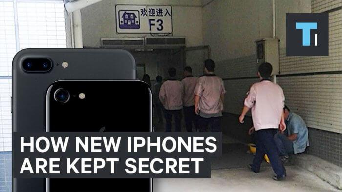iPhone gyár