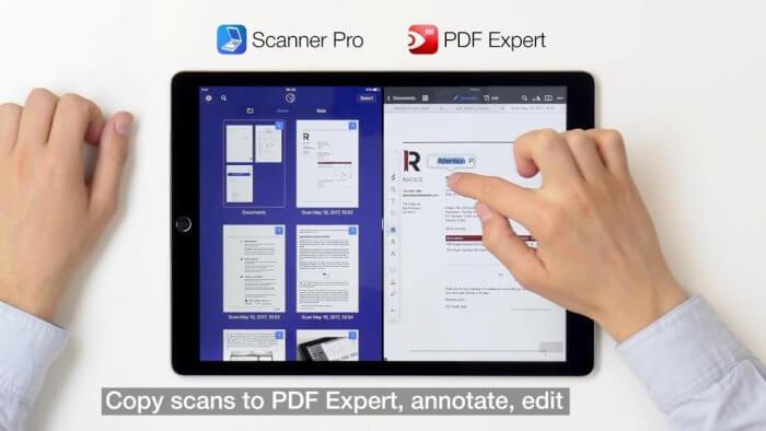 iPaden néhány alkalmazás képes Drag and Drop funkcióra egymás között!