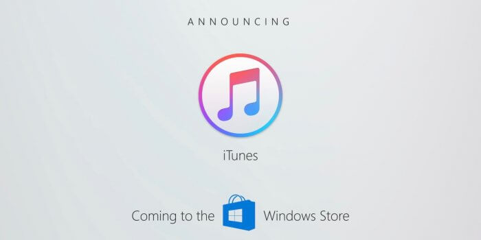 iTunes Windows Store
