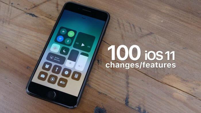 Több mint 100 iOS 11 újdonság