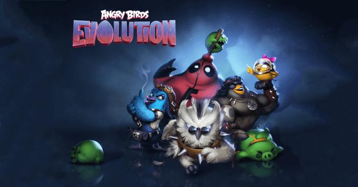 Angry Birds Evolution borítókép