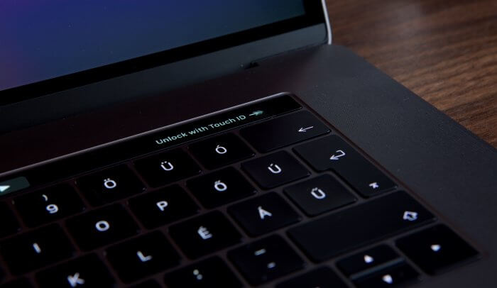 Touch ID a Retina MacBook Pro-on