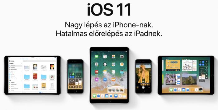 iOS 11 az iPaden, 10,5 colos iPad Pro