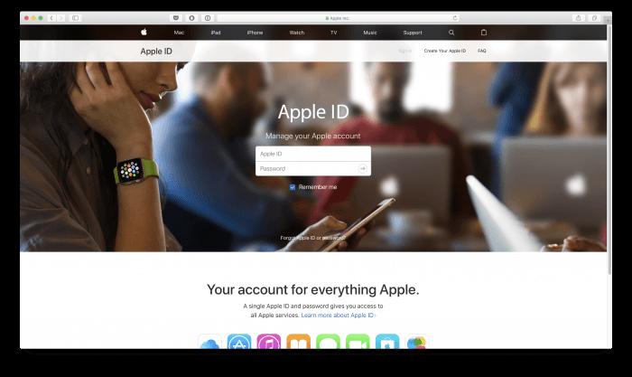 Nem fogadja el az Apple ID jelszavamat. Alkalmazásspecifikus jelszó létrehozása az Apple ID alatt