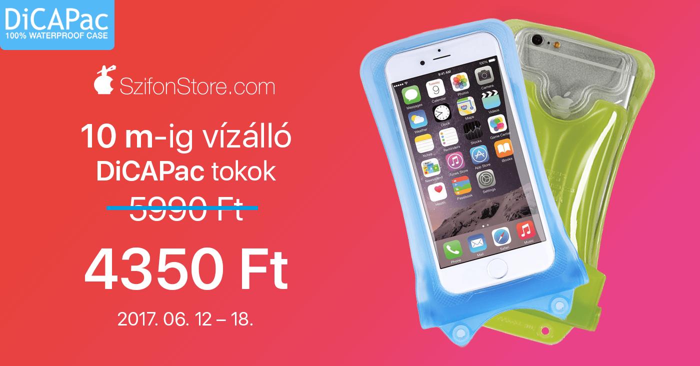 9ae949625b4e Vízálló iPhone tokok a nyárra a SzifonStore-tól: DiCApac és Catalyst ...