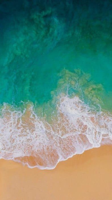 iOS 11 iPhone háttérkép