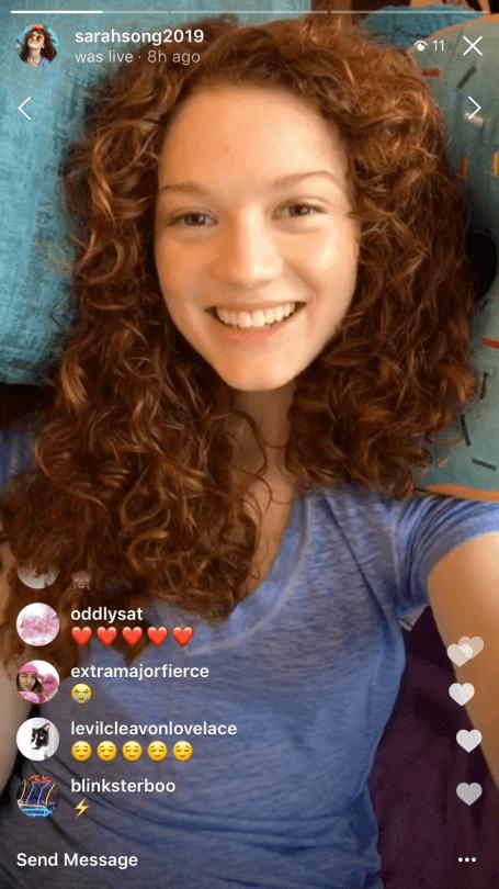Instagram Live – megoszthatóvá váltak az élő videók képernyőfotó