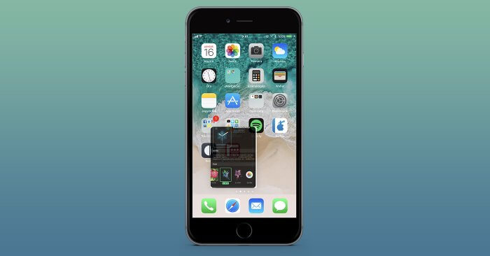 iOS 11 drag and drop iPhone-on