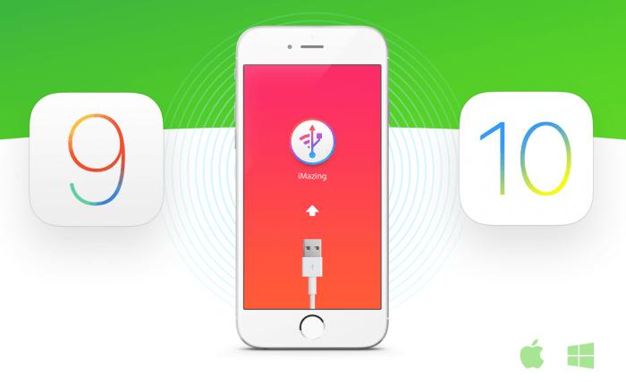 itunes helyett iMazing iOS 9, iOS 10, iOS 11