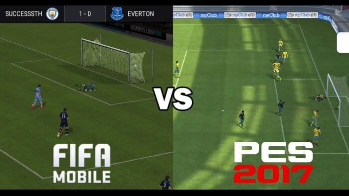 Fifa 17 vagy PES 17