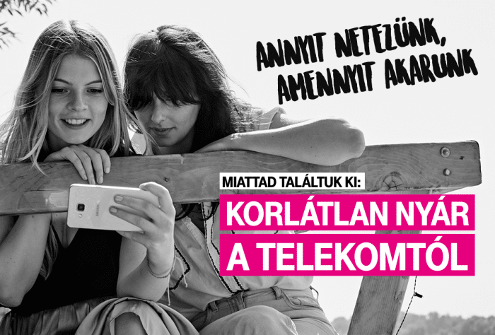 Telekom korlátlan mobilinternet nyáron