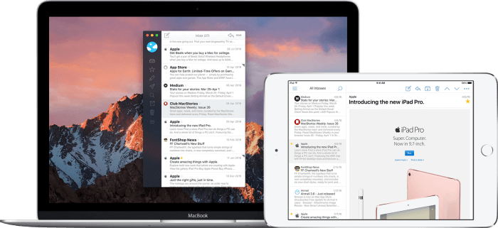 AirMail 3 képernyőfotó