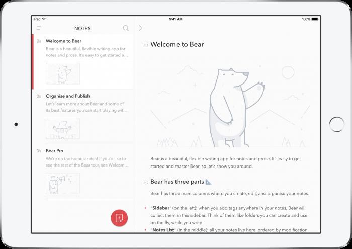 Bear képernyőfotó