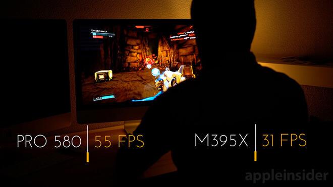 iMac Radeon FPS teszt
