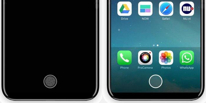 iPhone 8: virtuális home gomb
