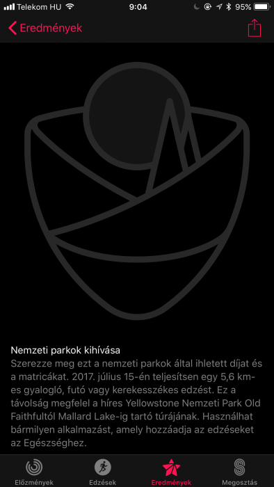 Apple Watch jelvények