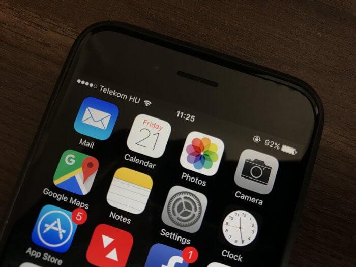 iOS 10.3.3 Wi-Fi biztonsági hiba