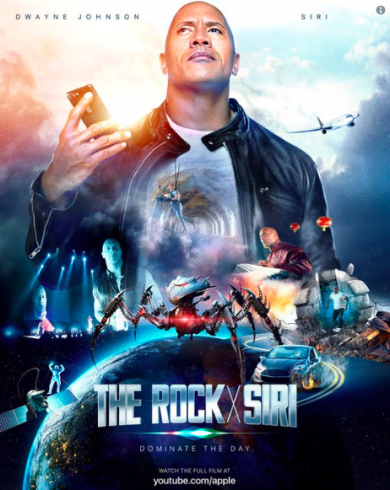 Dwayne Johnson X Siri film