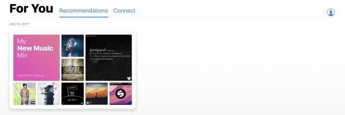 Apple Music saját lista