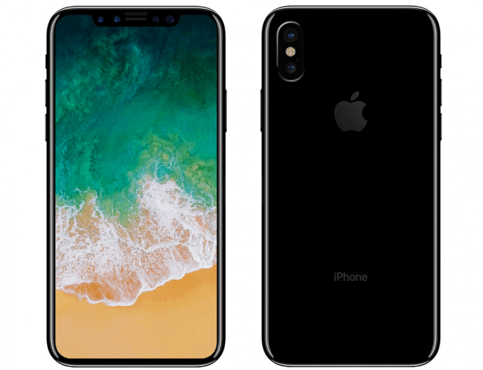 iPhone 8 vezeték nélküli töltés és hátlap ujjlenyomat-olvasó nélkül
