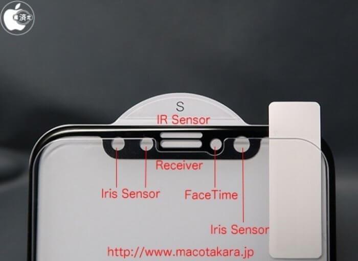iPhone 8 arcleolvasó