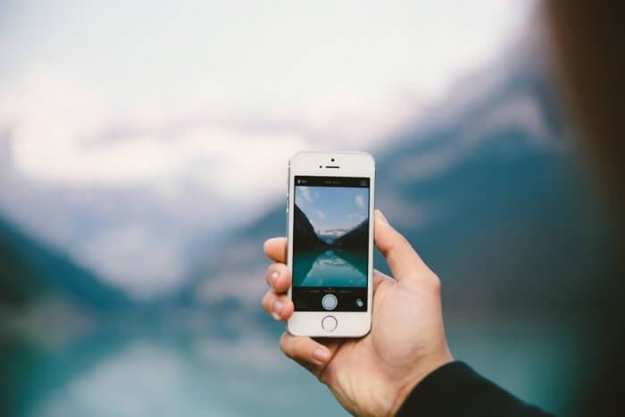 iPhone fotózás