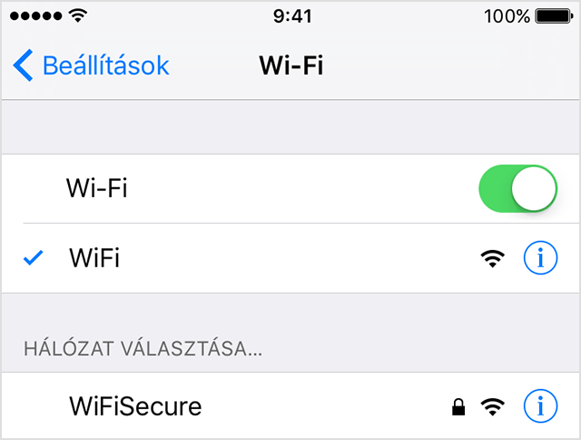 iOS 11 Wi-Fi 5GHz vs. 2GHz