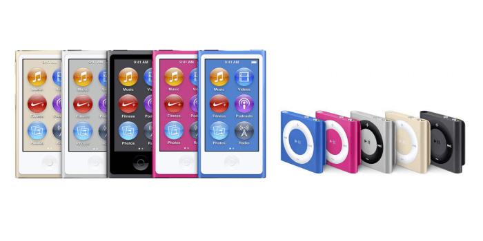 iPod nano és iPod shuffle
