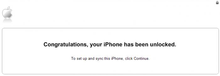 Ingyenes iPhone függetlenítés