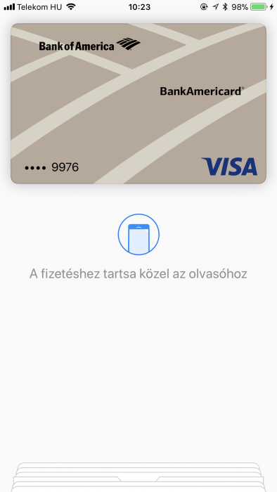 iOS 10 Apple Pay