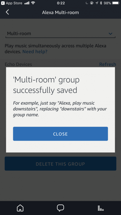 Amazon Echo multi-room